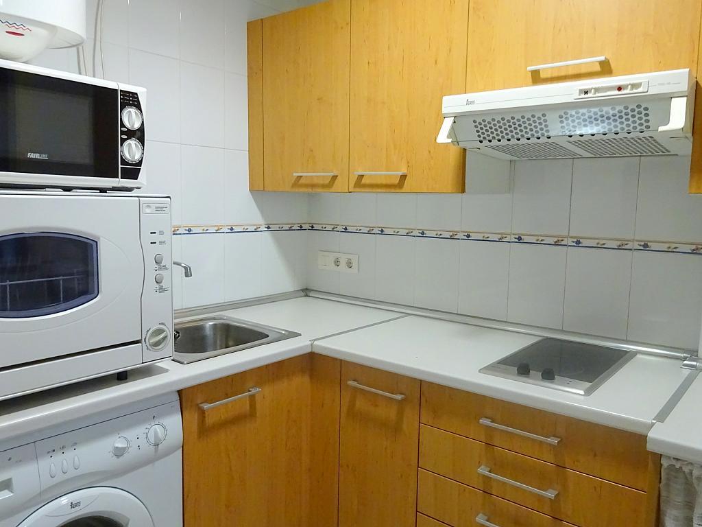 Cocina - Apartamento en alquiler en calle Ciencias, Av. Ciencias-Emilio Lemos en Sevilla - 170870330