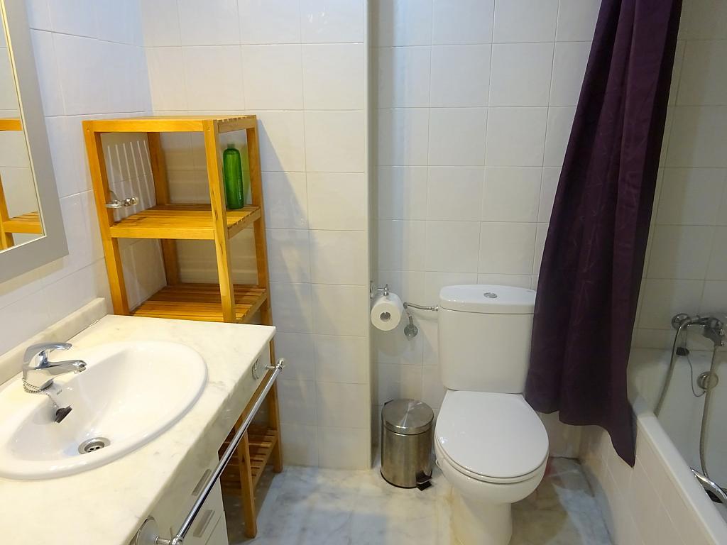 Baño - Apartamento en alquiler en calle Ciencias, Av. Ciencias-Emilio Lemos en Sevilla - 170870969