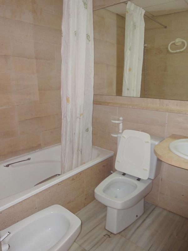 Baño - Apartamento en alquiler en calle Alcalde Ouis de Uruñuelas, Av. Ciencias-Emilio Lemos en Sevilla - 171212971