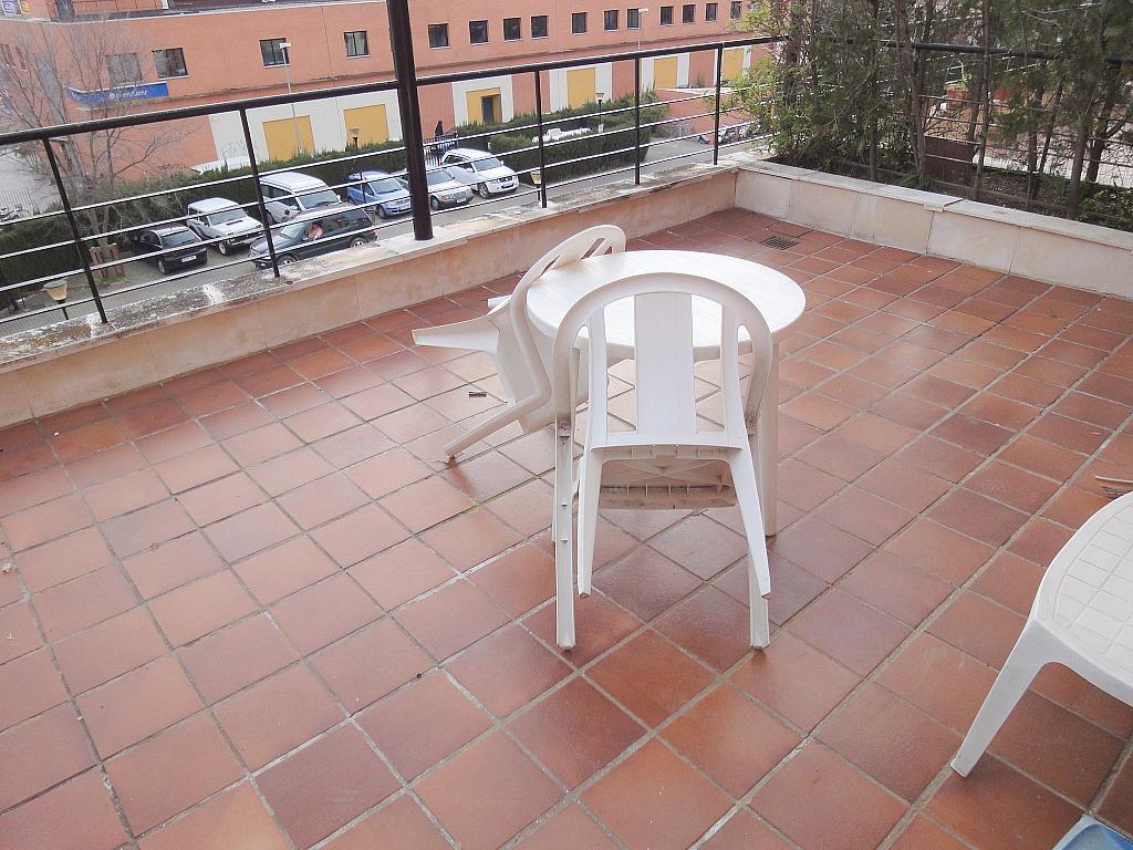 Terraza - Apartamento en alquiler en calle Alcalde Ouis de Uruñuelas, Av. Ciencias-Emilio Lemos en Sevilla - 171213194