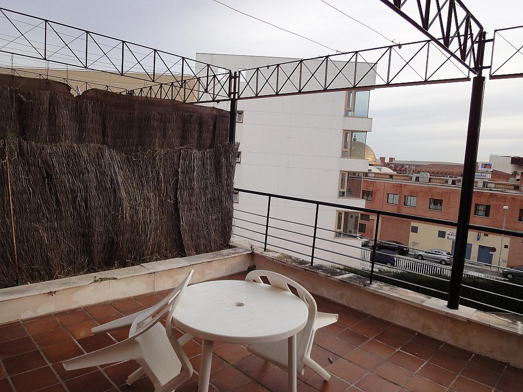Terraza - Apartamento en alquiler en calle Alcalde Ouis de Uruñuelas, Av. Ciencias-Emilio Lemos en Sevilla - 171213212