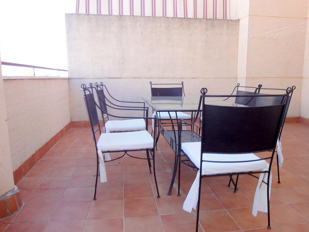 Terraza - Piso en alquiler en calle Alcalde Luis Uruñuela, Este - Alcosa - Torreblanca en Sevilla - 174011704