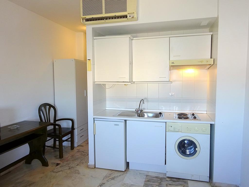 Cocina - Estudio en alquiler en calle Alcalde Luis Uruñuela, Este - Alcosa - Torreblanca en Sevilla - 185092743
