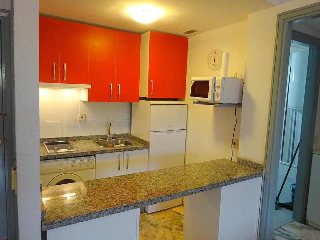 Cocina - Apartamento en alquiler en calle Luis Uruñuela, Este - Alcosa - Torreblanca en Sevilla - 182617097