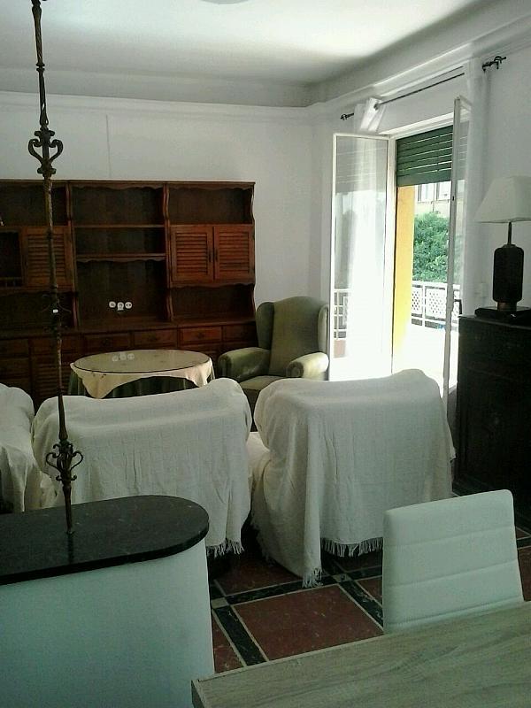 Salón - Piso en alquiler en calle Eduardo Dato, Nervión en Sevilla - 183742857