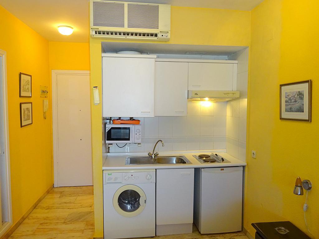 Cocina - Estudio en alquiler en calle Alcalde Luis Uruñuela, Este - Alcosa - Torreblanca en Sevilla - 185095436