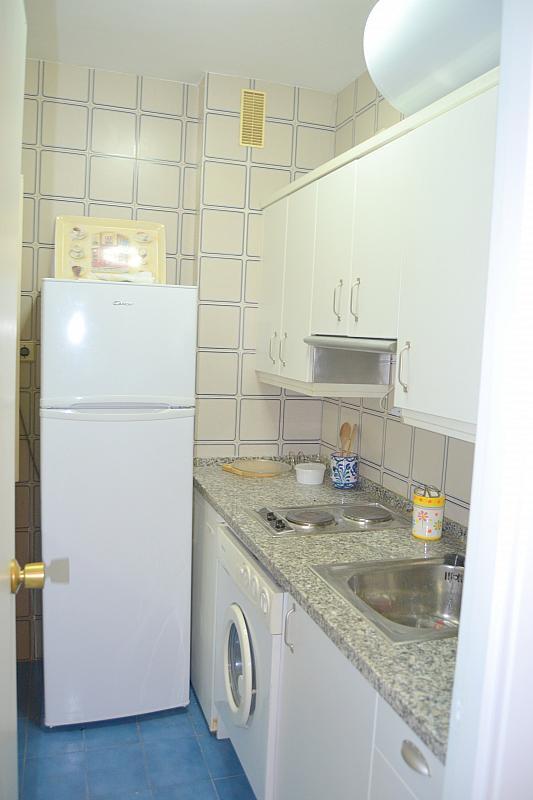Cocina - Apartamento en alquiler en calle Luis Montoto, San Pablo-Santa Justa en Sevilla - 185346714