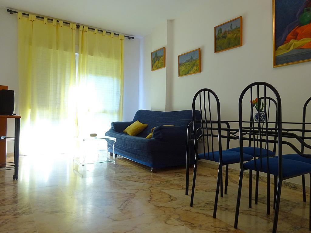 Salón - Apartamento en alquiler en calle Alcalde Luis Uruñuela, Este - Alcosa - Torreblanca en Sevilla - 194796151