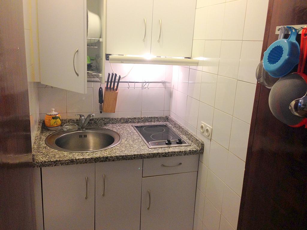 Cocina - Estudio en alquiler en calle Salado, Triana en Sevilla - 194831347
