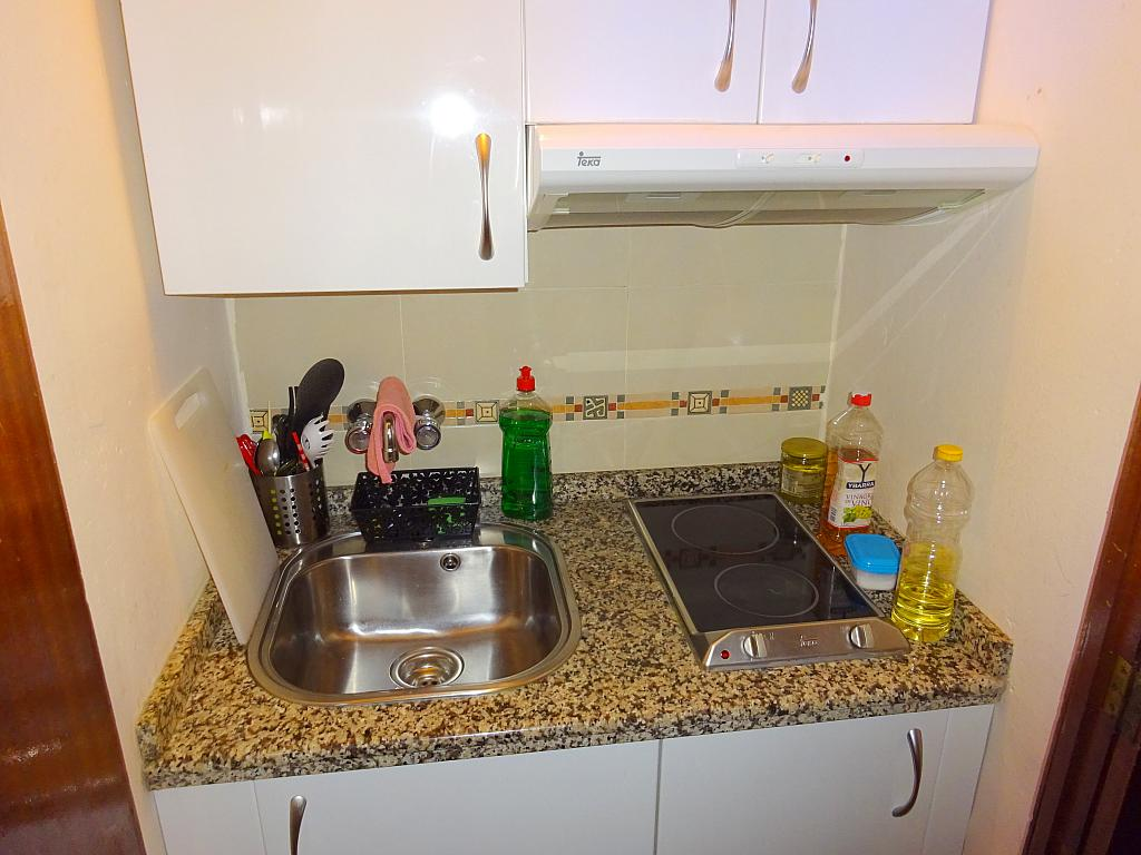 Cocina - Estudio en alquiler en calle Pages del Corro, Triana en Sevilla - 198195383