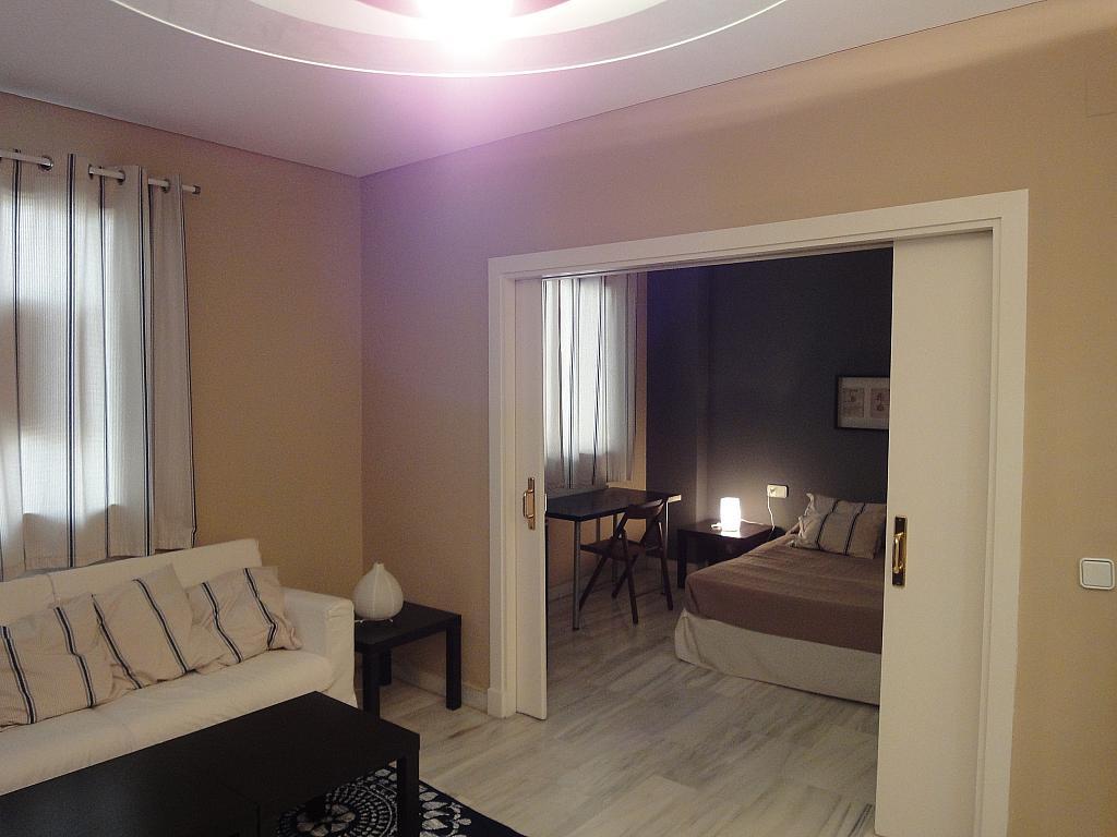Salón - Apartamento en alquiler en calle Alcalde Luis Uruñuela, Entrepuentes en Sevilla - 201905010