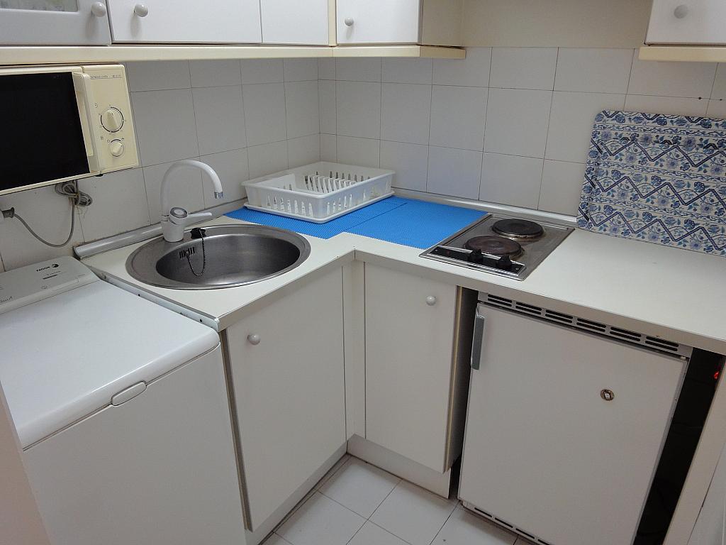 Cocina - Apartamento en alquiler en calle Alcalde Luis Uruñuela, Entrepuentes en Sevilla - 201905751