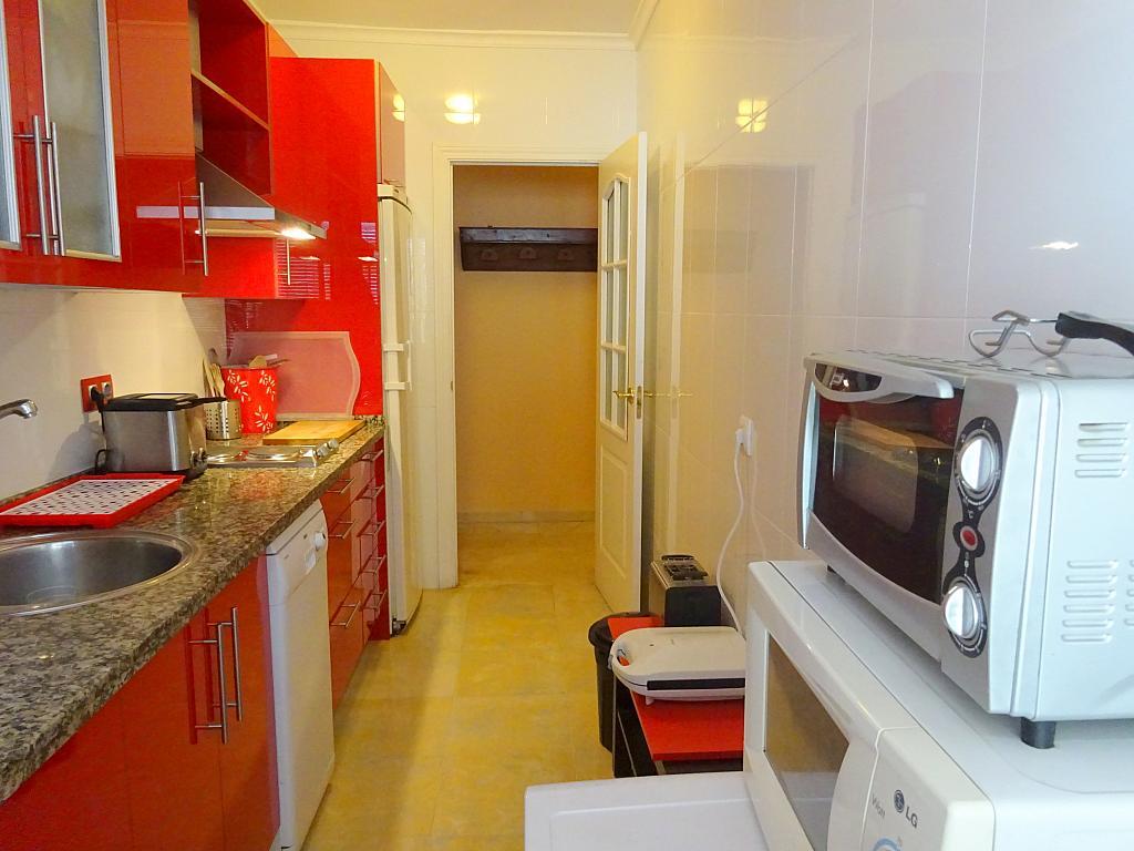Cocina - Piso en alquiler en calle Cardenal Lluch, Nervión en Sevilla - 203946906
