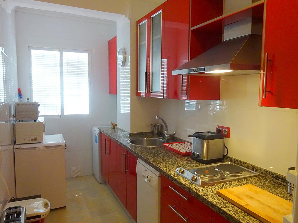 Cocina - Piso en alquiler en calle Cardenal Lluch, Nervión en Sevilla - 203946922