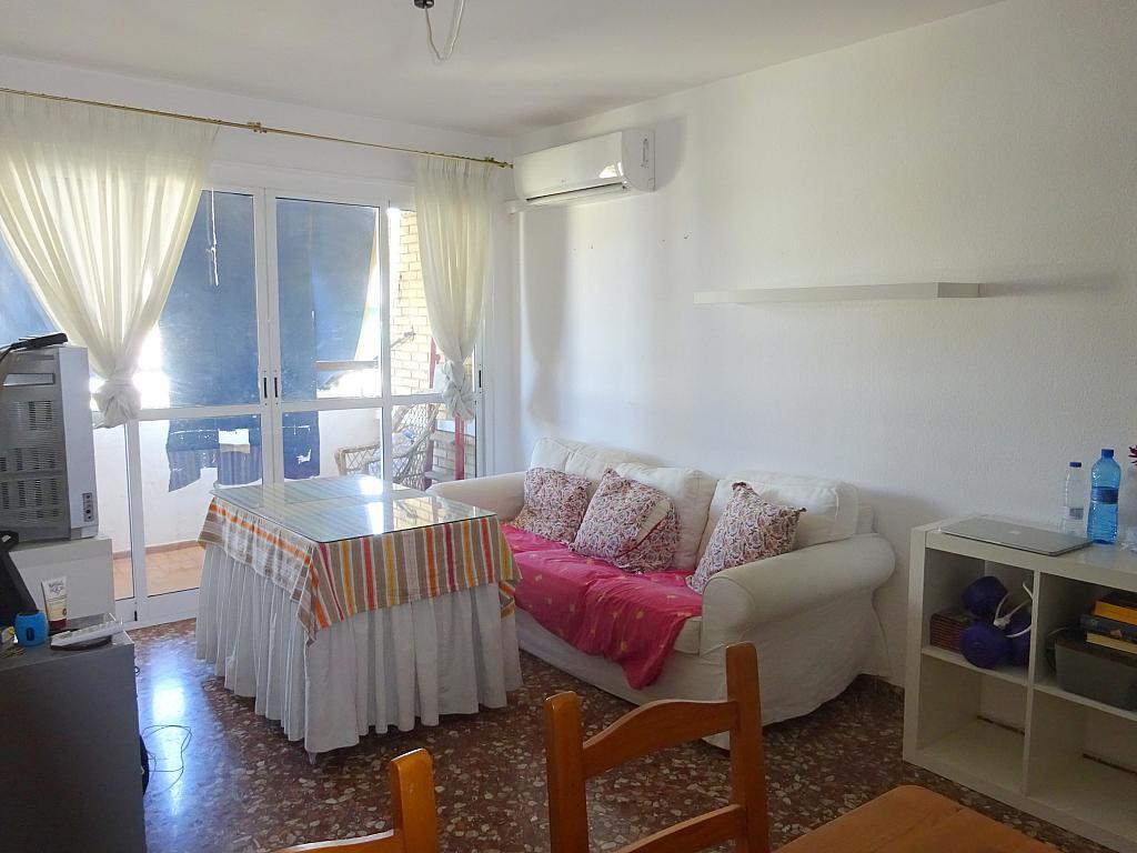 Salón - Piso en alquiler en calle Claudio Guerín, Nervión en Sevilla - 206904336