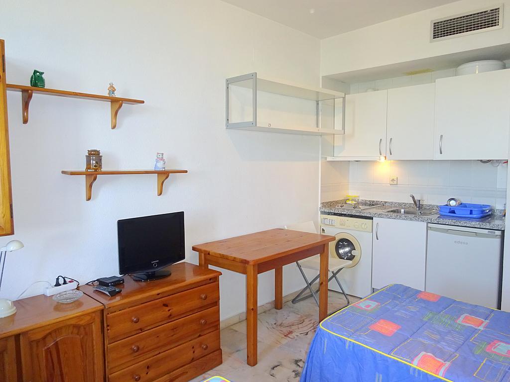 Salón - Estudio en alquiler en calle Alcalde Luis Uruñuela, Entrepuentes en Sevilla - 212389542