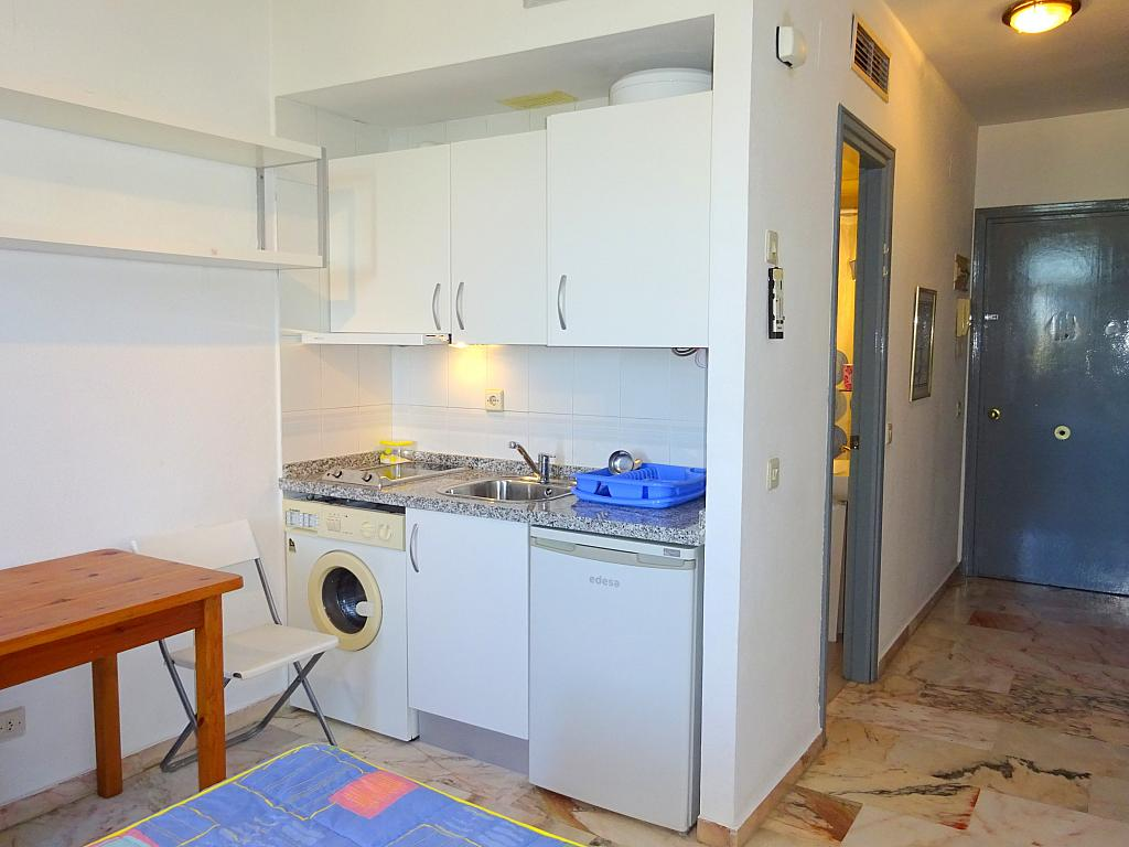 Cocina - Estudio en alquiler en calle Alcalde Luis Uruñuela, Entrepuentes en Sevilla - 212389585