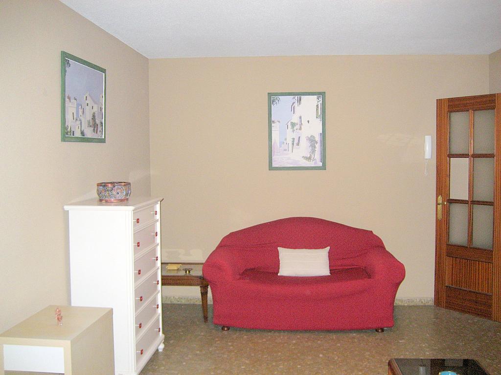 Salón - Piso en alquiler en calle Alcalde Luis Urñuela, Entrepuentes en Sevilla - 213608287
