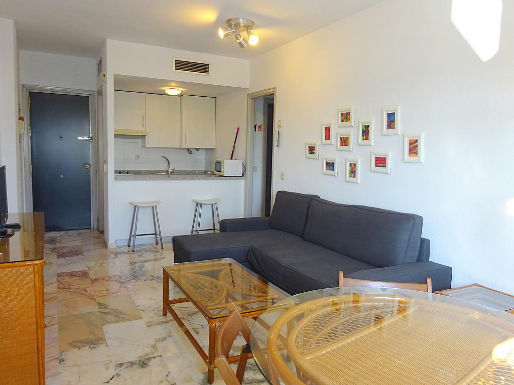 Salón - Apartamento en alquiler en calle Alcalde Luis Uruñuela, Entrepuentes en Sevilla - 218217648