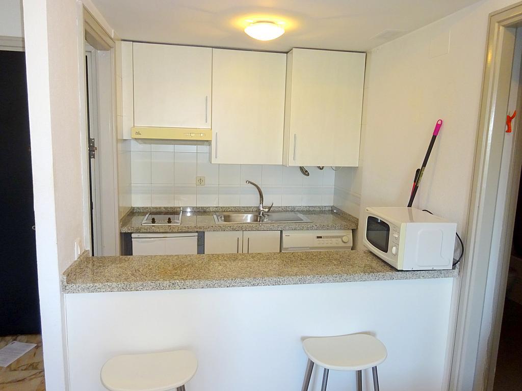 Cocina - Apartamento en alquiler en calle Alcalde Luis Uruñuela, Entrepuentes en Sevilla - 218217649