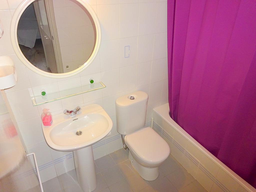 Baño - Apartamento en alquiler en calle Alcalde Luis Uruñuela, Entrepuentes en Sevilla - 218217654