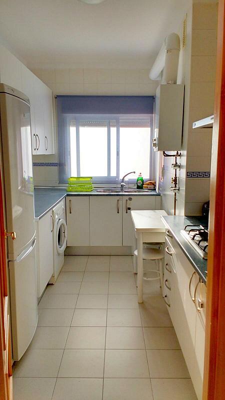 Cocina - Piso en alquiler en calle Ciencias, Av. Ciencias-Emilio Lemos en Sevilla - 232173121