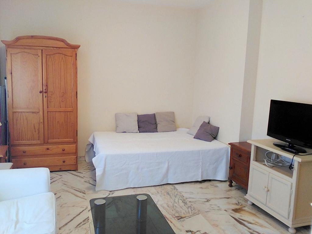 Dormitorio - Estudio en alquiler en calle Alcalde Luis Uruñuela, Entrepuentes en Sevilla - 243314278