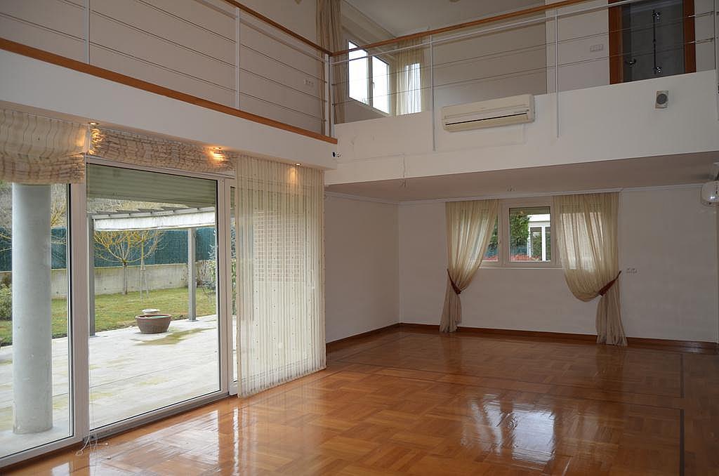 Salón - Casa en alquiler en calle Aldabarren, Gorraiz - 253537547