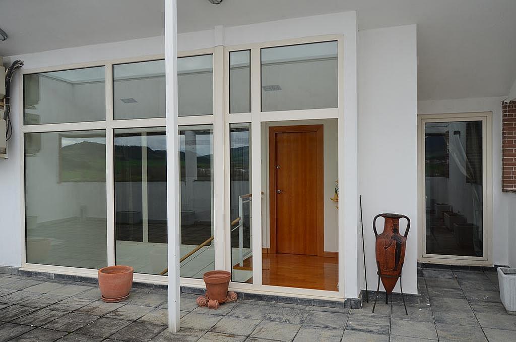 Terraza - Casa en alquiler en calle Aldabarren, Gorraiz - 253537606