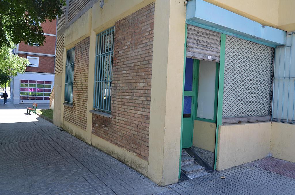 Fachada - Local comercial en alquiler en calle Virgen de Ujue, San Juan en Pamplona/Iruña - 194807360