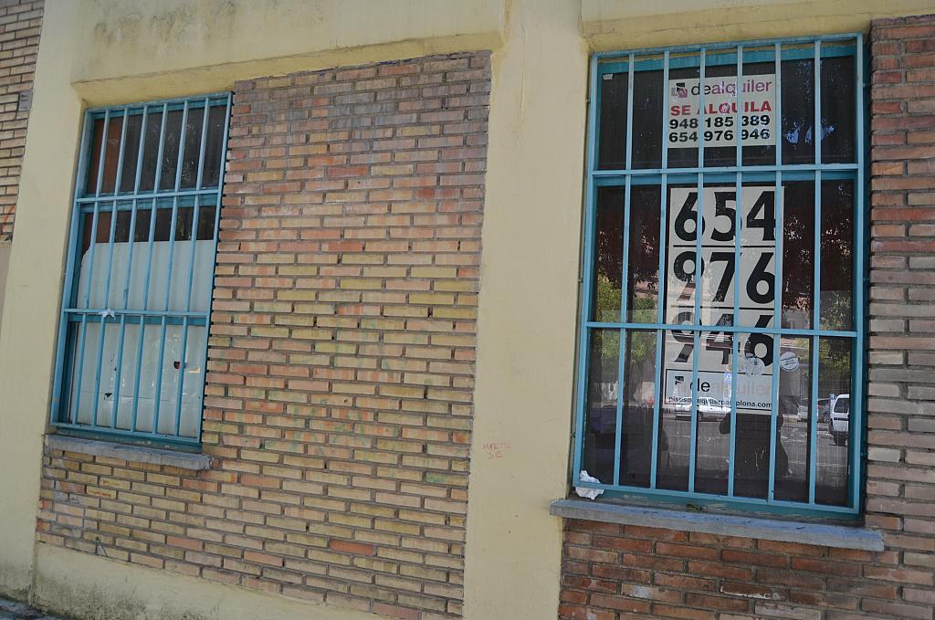 Fachada - Local comercial en alquiler en calle Virgen de Ujue, San Juan en Pamplona/Iruña - 194807362