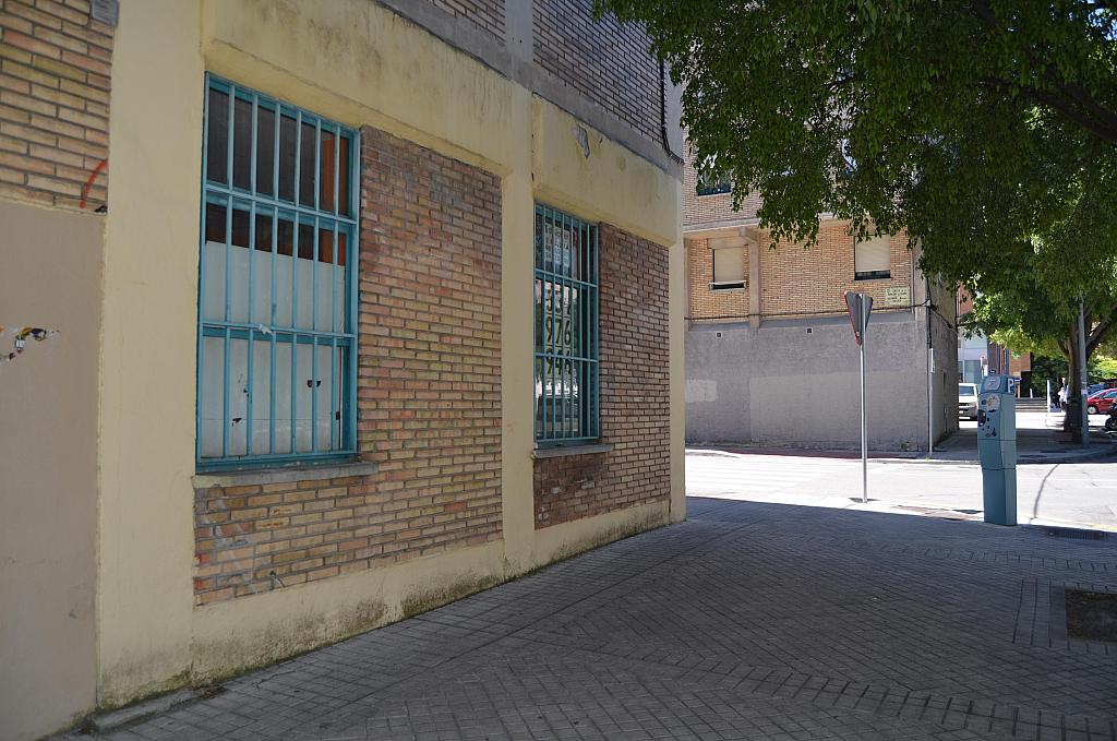 Fachada - Local comercial en alquiler en calle Virgen de Ujue, San Juan en Pamplona/Iruña - 194807363