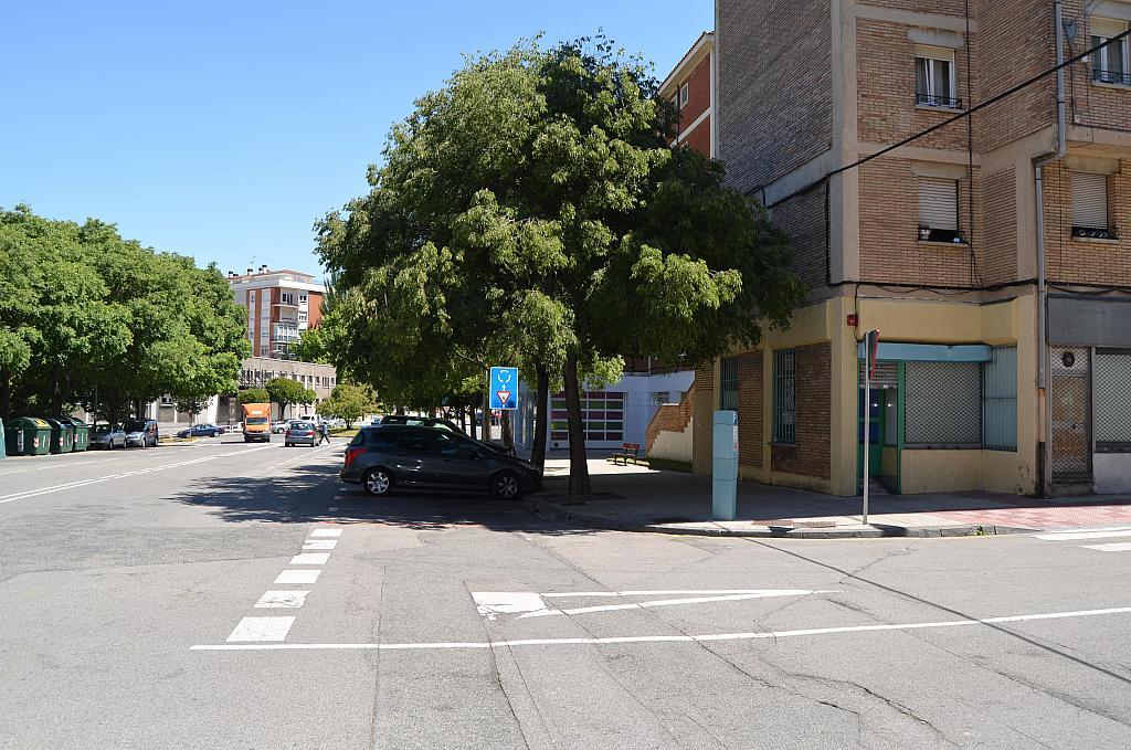 Fachada - Local comercial en alquiler en calle Virgen de Ujue, San Juan en Pamplona/Iruña - 194807370