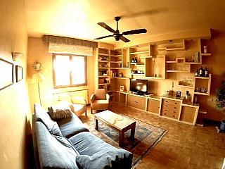 Salón - Piso en alquiler en calle Irunlarrea, Ermitagaña-Mendebaldea en Pamplona/Iruña - 221218801