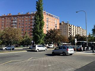 Fachada - Piso en alquiler en calle Irunlarrea, Ermitagaña-Mendebaldea en Pamplona/Iruña - 221218820