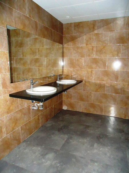 Baño - Oficina en alquiler en calle Avenida Cornellà, Esplugues de Llobregat - 123157124