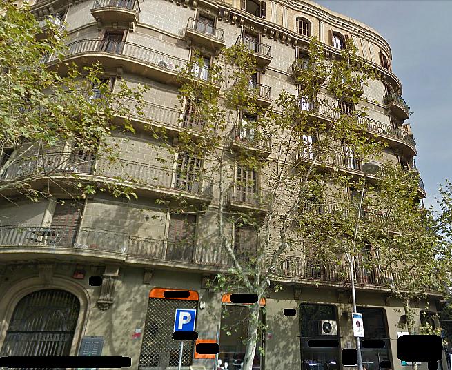 Fachada - Local comercial en alquiler en calle Muntaner, Eixample esquerra en Barcelona - 123695521