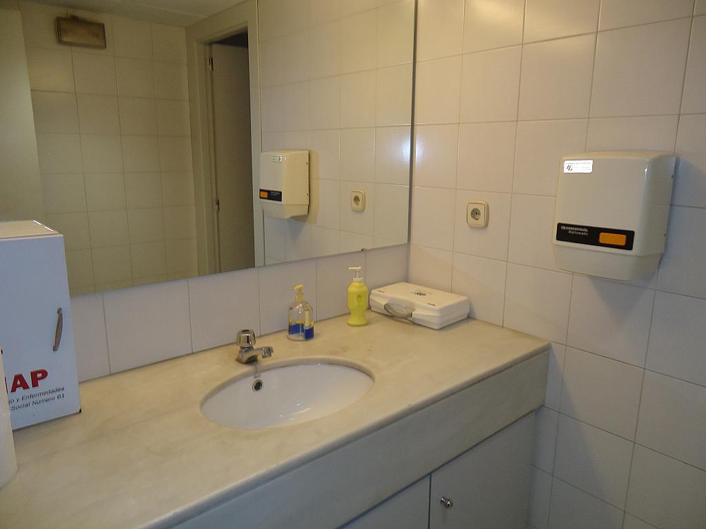 Baño - Oficina en alquiler en calle Muntaner, Sant Gervasi – Galvany en Barcelona - 157193915