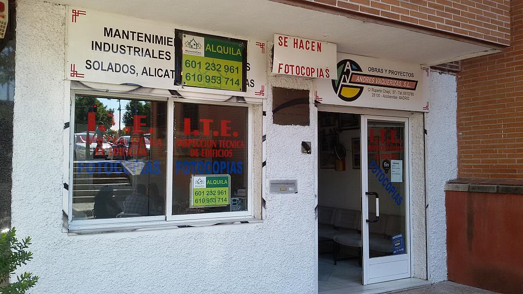 Fachada - Local en alquiler en calle Ruperto Chapi, Norte en Alcobendas - 216667960