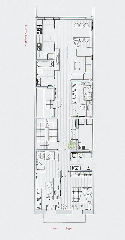 Casa en alquiler en Eixample dreta en Barcelona - 316012611