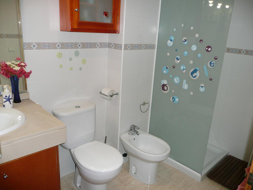 Baño - Piso en alquiler en calle Cami Masia D'en Frederic, Llimonet en Vilanova i La Geltrú - 323035214