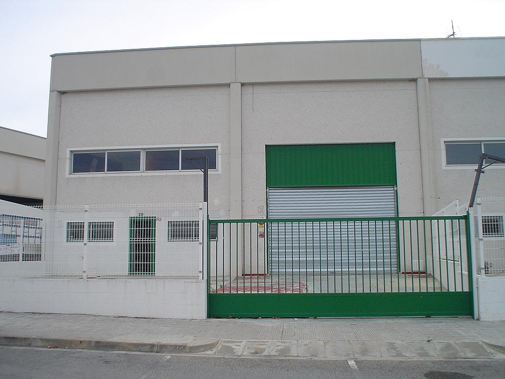 Fachada - Nave industrial en alquiler en calle Les Mates, La muntanyeta en Vendrell, El - 323034584