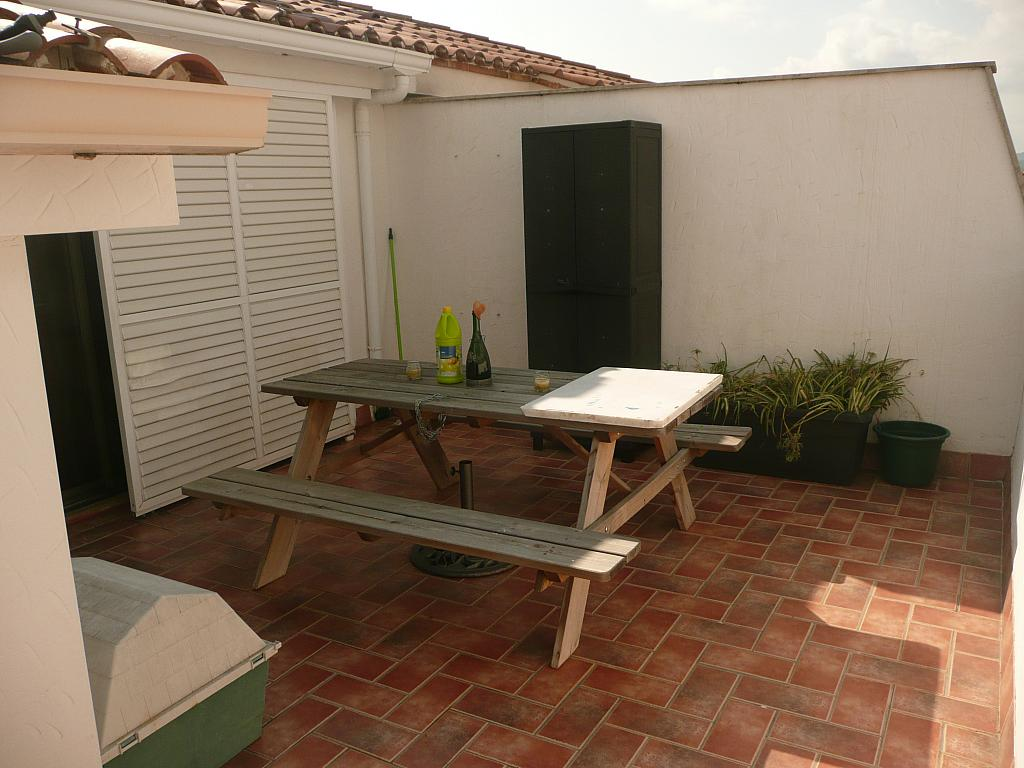 Terraza - Dúplex en alquiler en calle Drferran, Roquetes, Les - 340302939