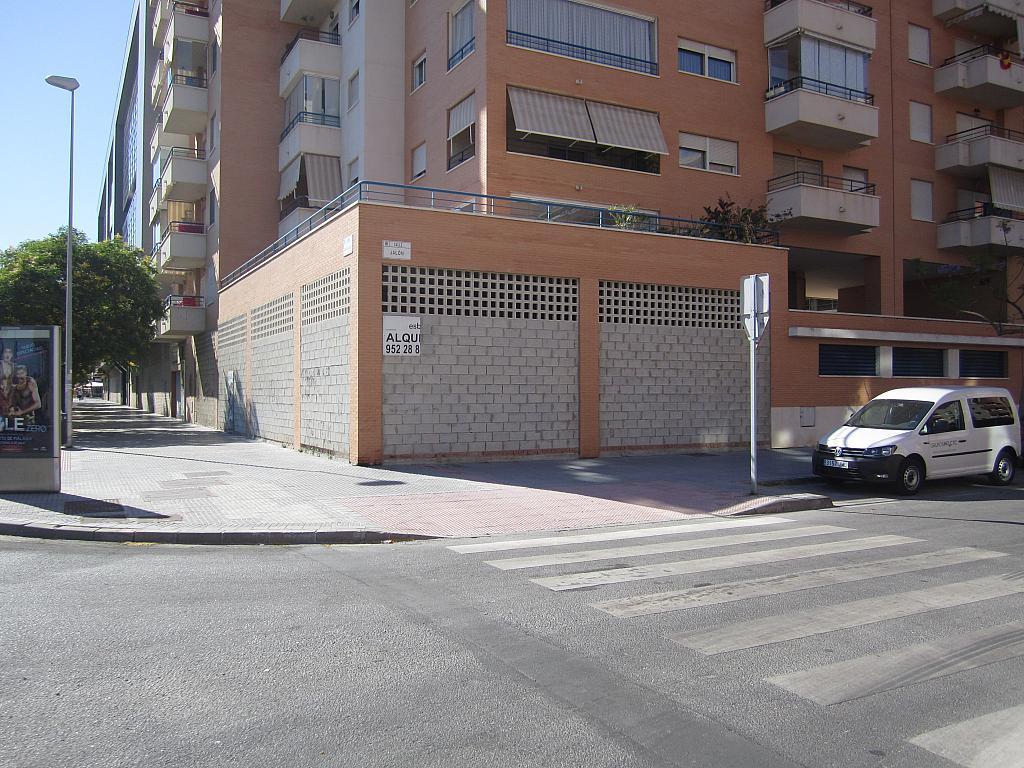 Fachada - Local en alquiler en calle Imperio Argentina, Martín Carpena-Torre del Río en Málaga - 324848450