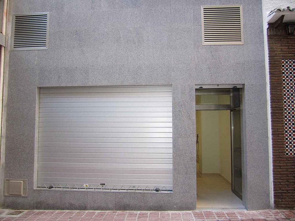 Fachada - Local comercial en alquiler en pasaje Esperanto, Centro en Málaga - 125219225