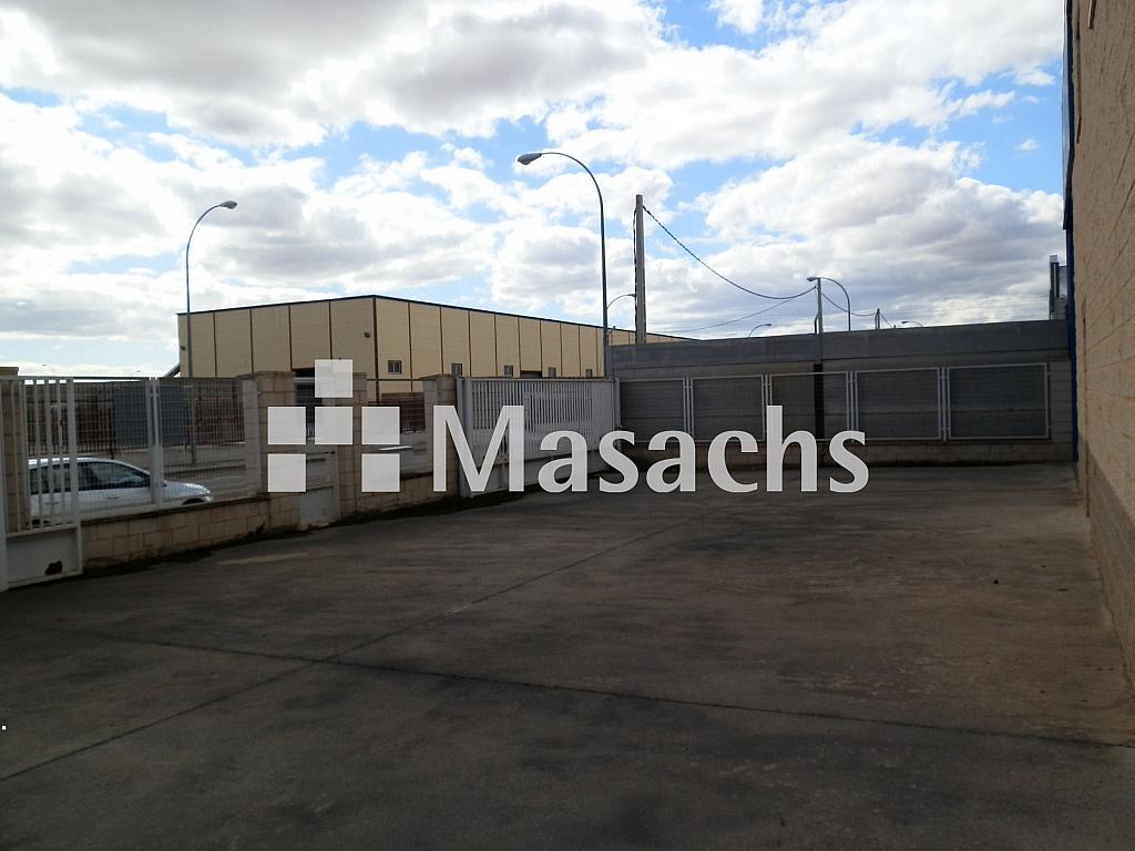 Ref. 7509 patio 2 - Nave industrial en alquiler en Manzanares - 263777772
