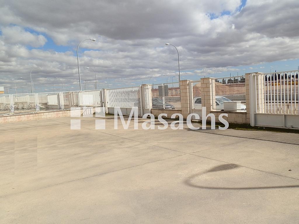 Ref. 7509 patio - Nave industrial en alquiler en Manzanares - 263777775
