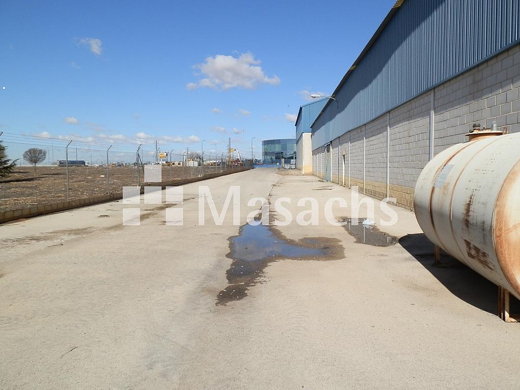 Ref. 7507 patio - Nave industrial en alquiler en Manzanares - 263777832