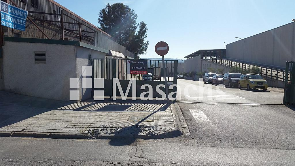 Ref. 7650 exterior 1 - Nave industrial en alquiler en Abrera - 326098503