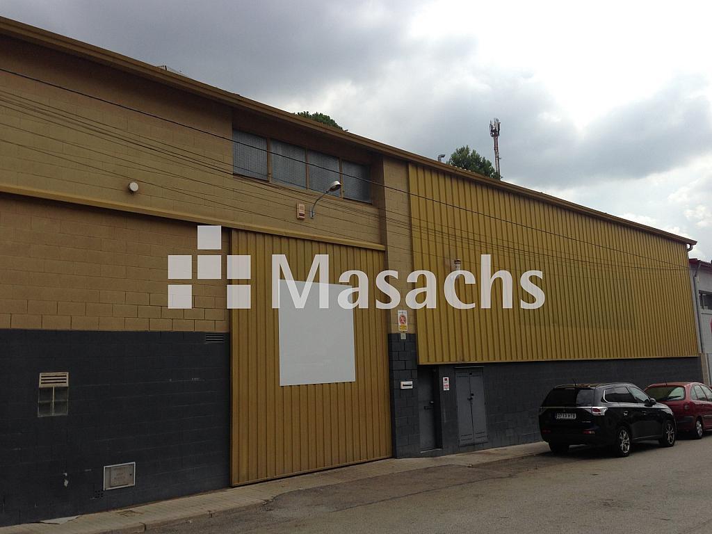 Ref. 7691 exterior - Nave industrial en alquiler en Terrassa - 326097369